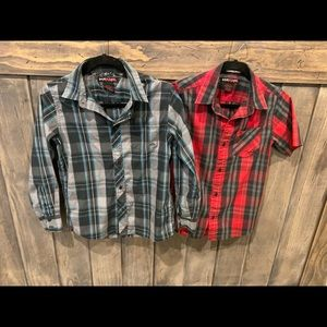 Tony hawk button up shirt bundle